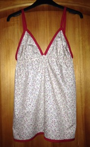 Baby Doll Top front